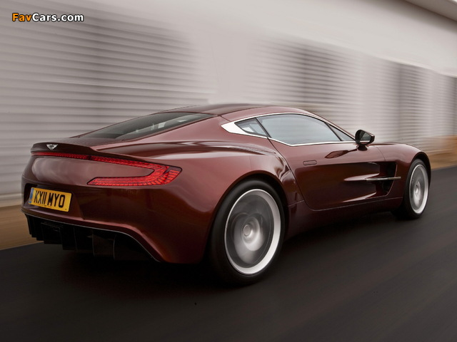 Images of Aston Martin One-77 (2009–2012) (640 x 480)