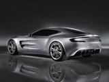 Photos of Aston Martin One-77 Concept (2008)
