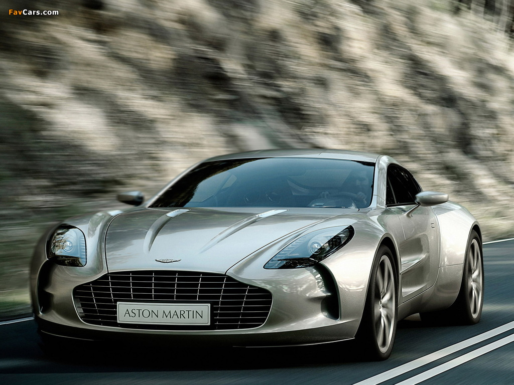Pictures of Aston Martin One-77 (2009–2012) (1024 x 768)