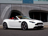 Photos of Aston Martin V12 Vantage Roadster (2012)