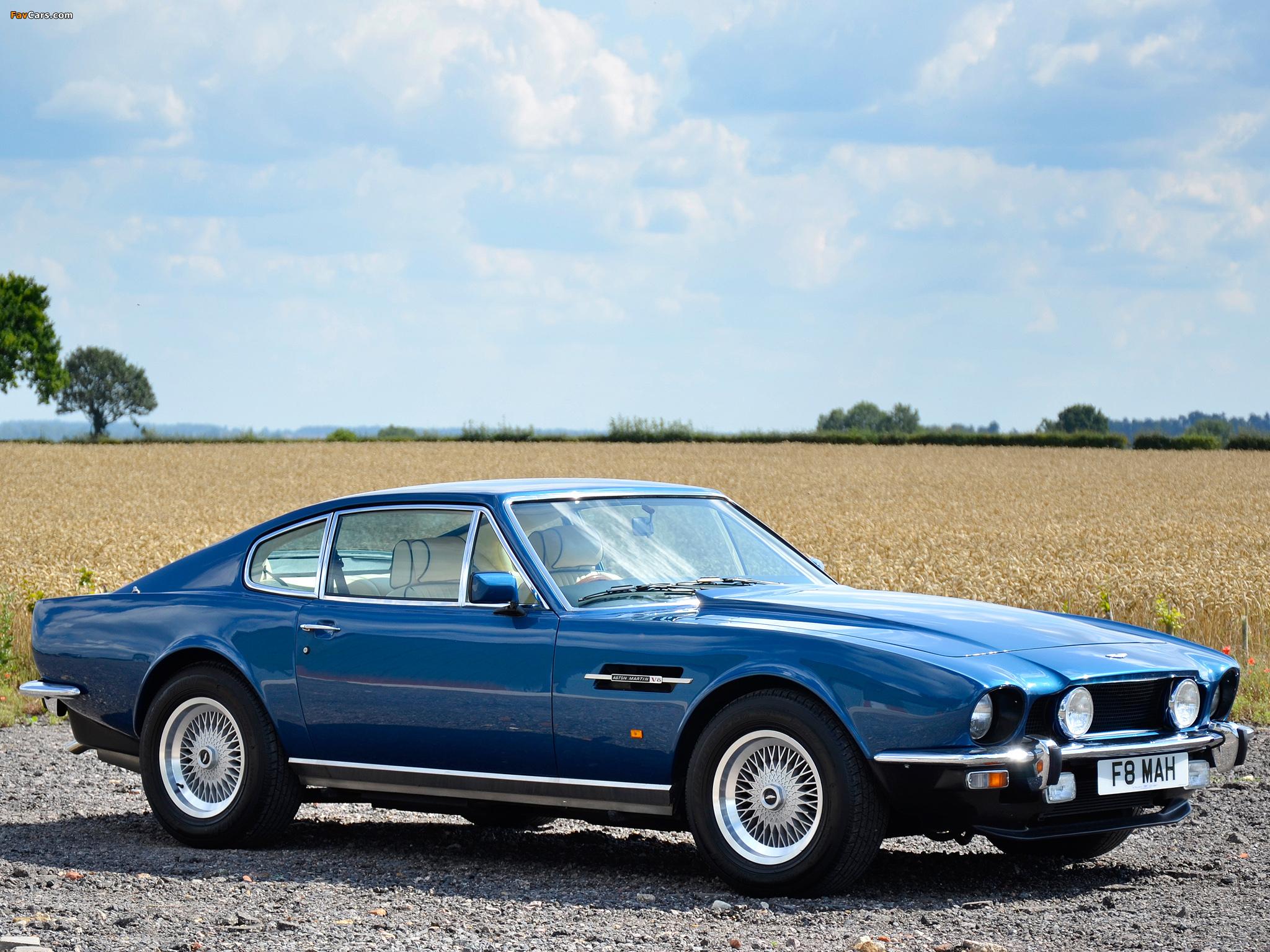 Aston Martin V8 Saloon 1972 1989 Photos 2048x1536