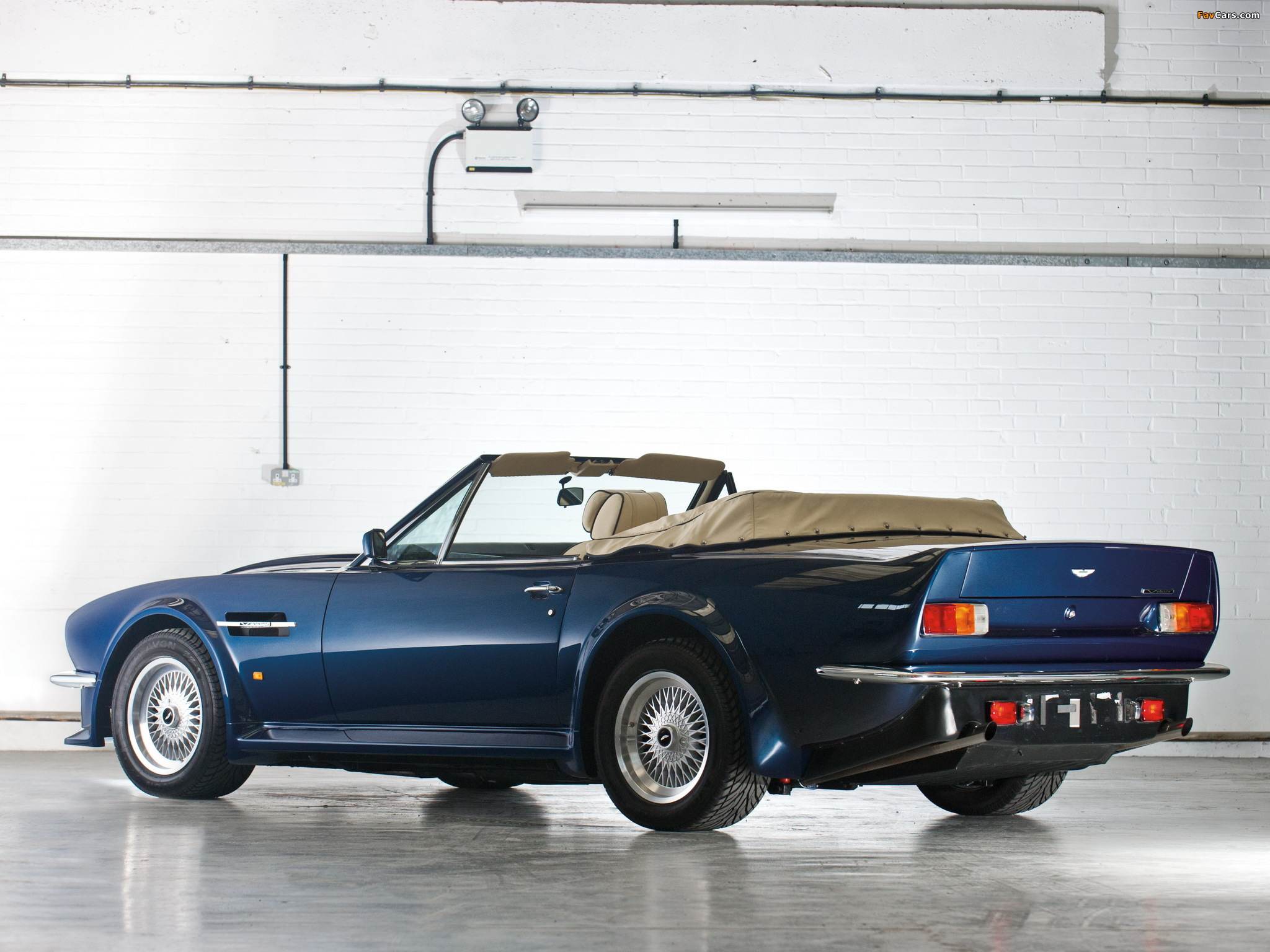 Aston Martin V8 Vantage Volante X Pack 1987 1989 Images 2048x1536