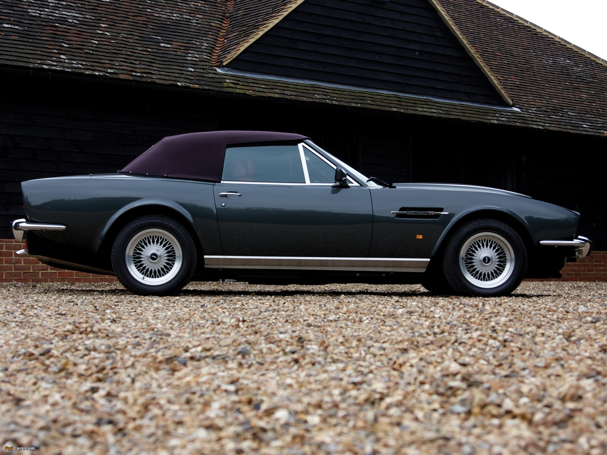 Aston Martin V8 Vantage Volante Prince Of Wales 1986 1989 Wallpapers 2048x1536