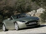 Aston Martin V8 Vantage Roadster (2006–2008) wallpapers