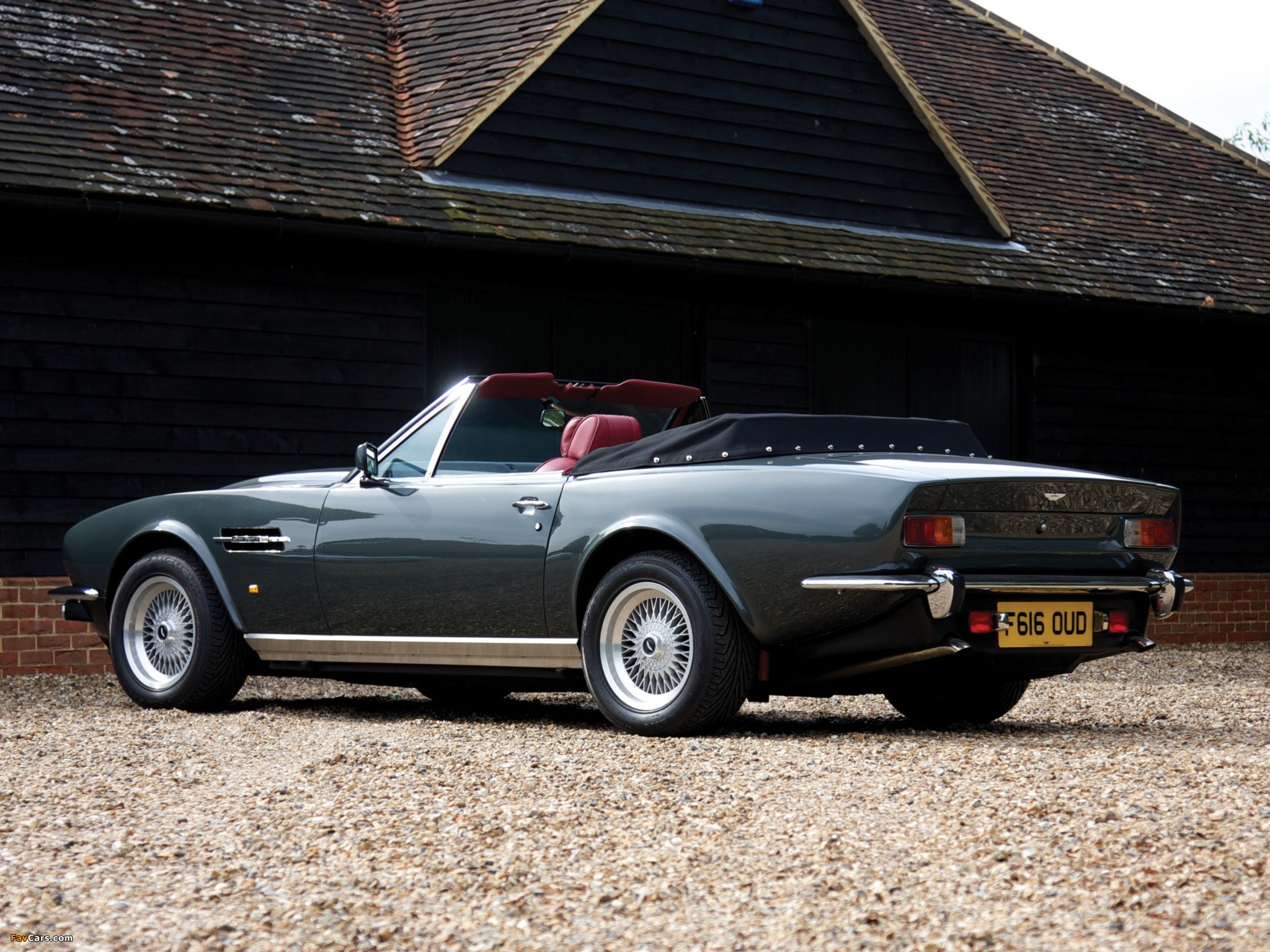 Images Of Aston Martin V8 Vantage Volante Prince Of Wales 1986 1989 2048x1536
