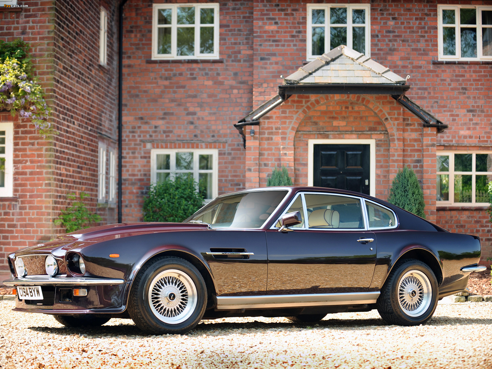 Photos Of Aston Martin V8 Vantage Uk Spec 1977 1989