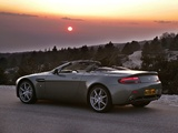 Photos of Aston Martin V8 Vantage Roadster (2006–2008)