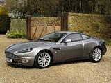 Aston Martin V12 Vanquish UK-spec (2001–2006) photos
