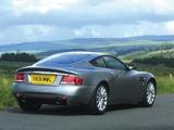 Aston Martin V12 Vanquish UK-spec (2001–2006) pictures