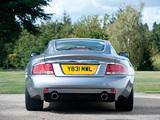 Aston Martin V12 Vanquish UK-spec (2001–2006) wallpapers