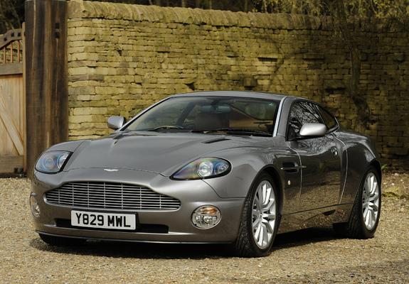 Aston Martin V12 Vanquish Uk Spec 2001 2006 Wallpapers