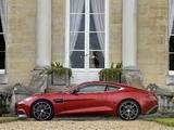 Aston Martin Vanquish UK-spec (2012) pictures