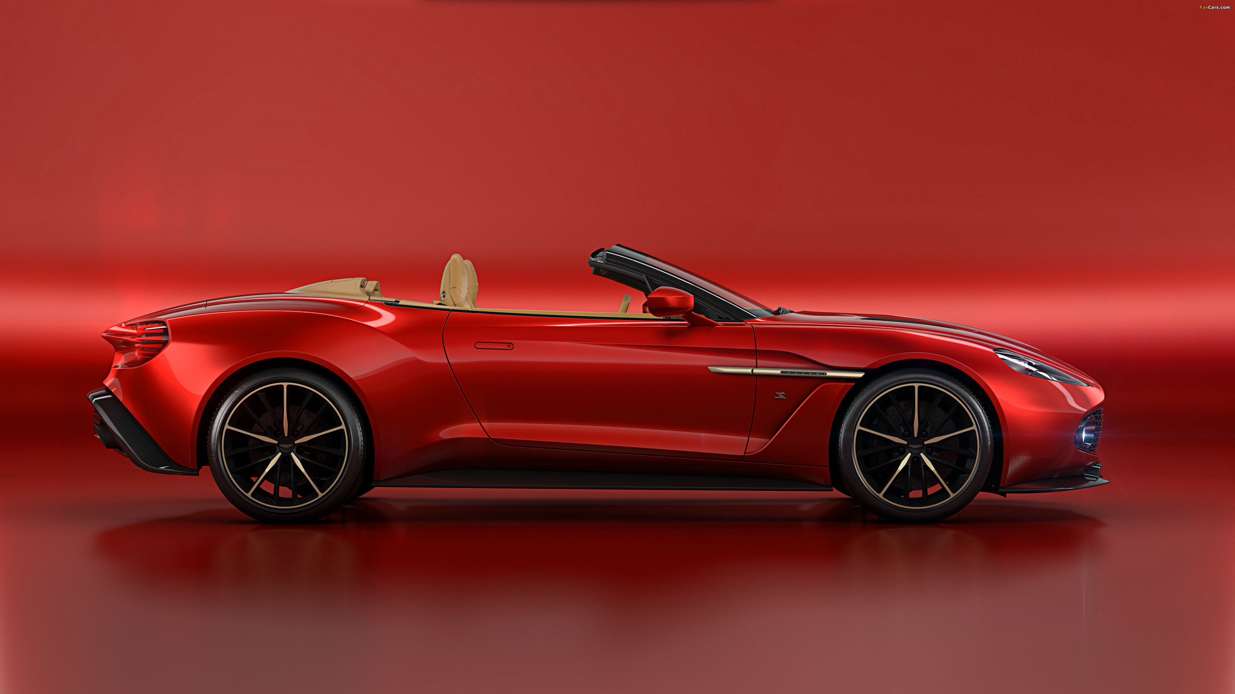 Aston Martin Vanquish Zagato Volante 2016 images (4096 x 2304)