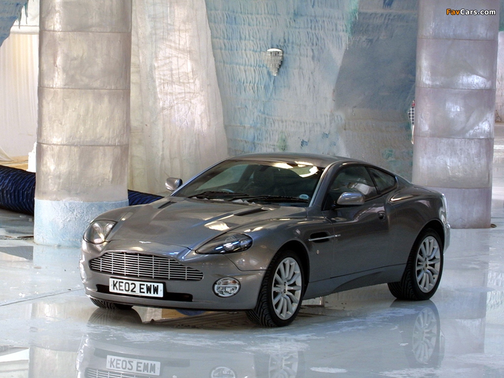 Aston Martin V12 Vanquish 007 Another Day (2002) wallpapers