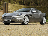 Photos of Aston Martin V12 Vanquish UK-spec (2001–2006)