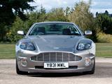 Pictures of Aston Martin V12 Vanquish UK-spec (2001–2006)