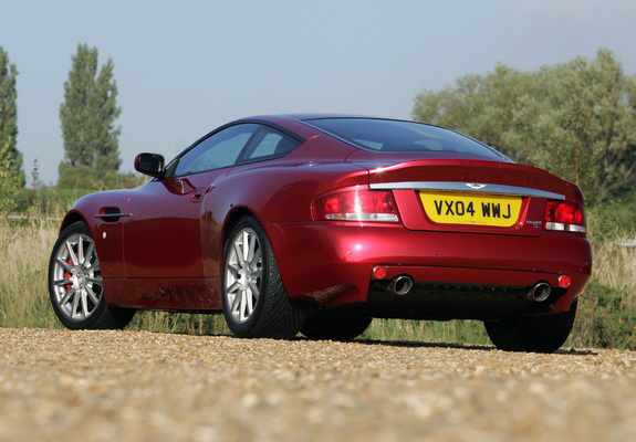 Aston Martin V12 Vanquish S 20042007 Wallpapers