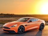 Aston Martin Vanquish US-spec 2012 wallpapers