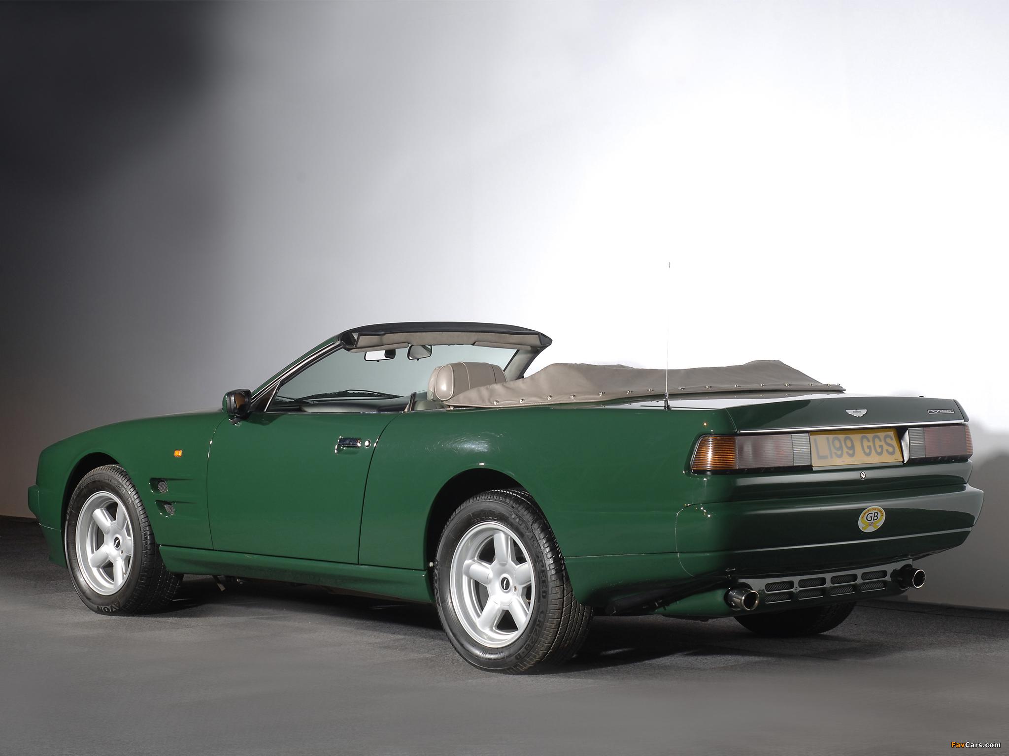 Aston Martin Virage Volante 1992 1996 Wallpapers 2048x1536