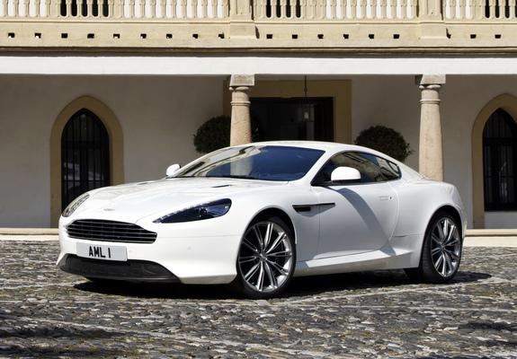 Aston Martin Virage 2011 2012 Wallpapers
