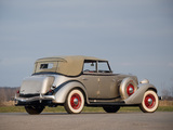 Auburn 850 Y Custom Phaeton (1934) wallpapers