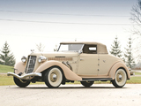 Auburn 851 SC Convertible Coupe (1935) images