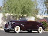 Auburn 852 SC Convertible Coupe (1936) images