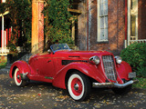 Auburn 852 SC Speedster (1936–1937) wallpapers