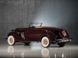 Pictures of Auburn 852 SC Convertible Coupe (1936)