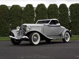 Auburn 8-101A Convertible Coupe (1933) photos