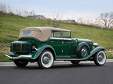 Auburn Twelve Phaeton Sedan 1250 (1934) pictures