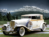 Pictures of Auburn V12 161A Convertible Sedan (1933)