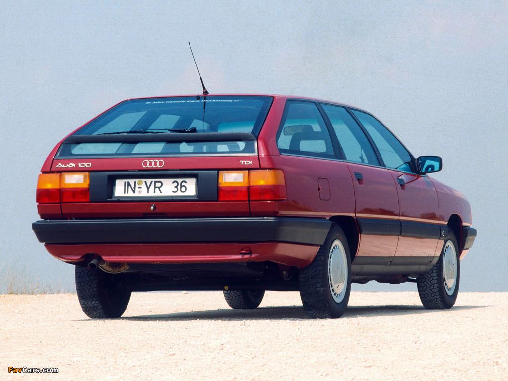Audi 100 Avant C3 1988 1990 Images 1024x768