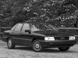 Audi 100 quattro US-spec C3 (1988–1990) photos