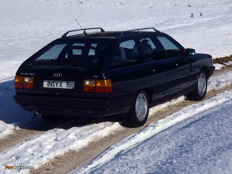 Images of Audi 100 Avant C3 (1988–1990) (800x600)