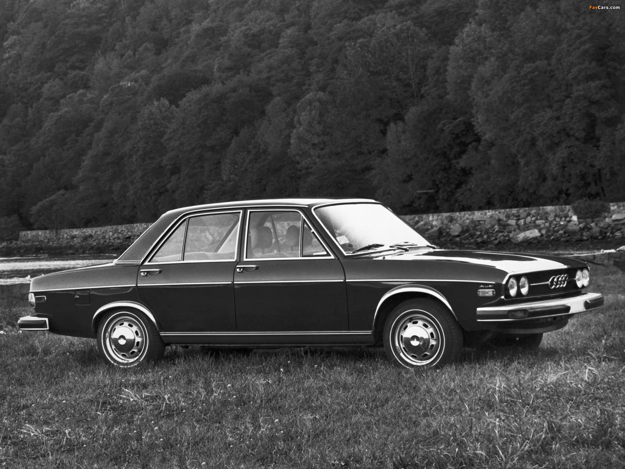 Photos of Audi 100 LS US-spec C1 (1973-1976) (2048x1536)