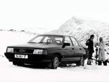Photos of Audi 100 quattro C3 (1982–1987)