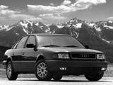 Photos of Audi 100 quattro US-spec 4A,C4 (1990–1994)