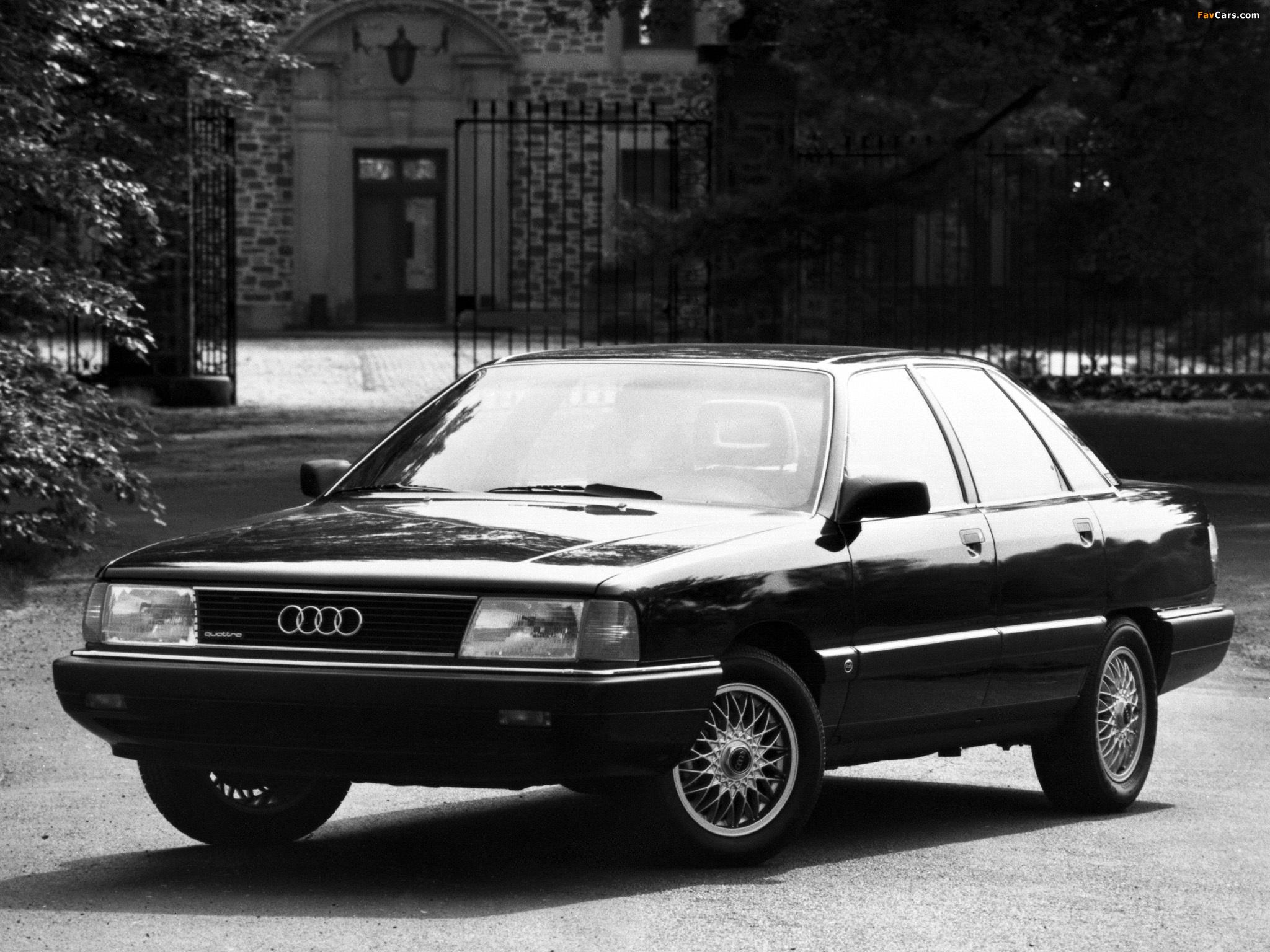 Pictures Of Audi 100 Quattro Us Spec C3 1988 1990