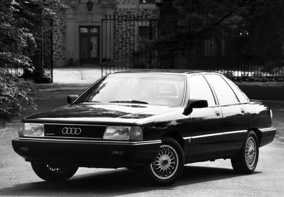 Pictures of Audi 100 quattro US-spec C3 (1988-1990)