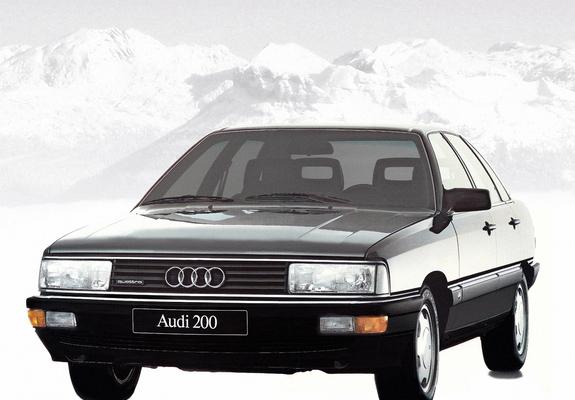 Photos of Audi 200 quattro 44,44Q (1983-1987)
