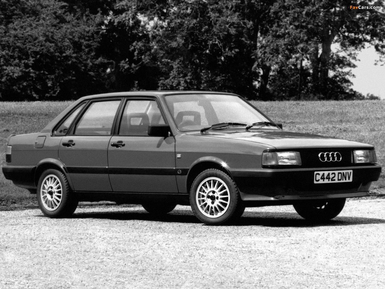 Audi 80 Quattro Uk Spec B2 1982 1984 Wallpapers 1280x960