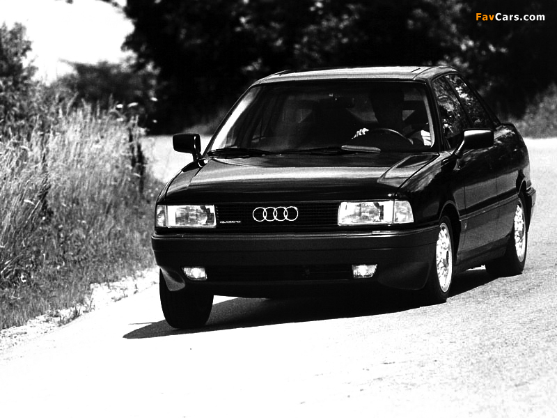 audi 80 quattro us spec b3 1988 1992 wallpapers 800x600. Black Bedroom Furniture Sets. Home Design Ideas