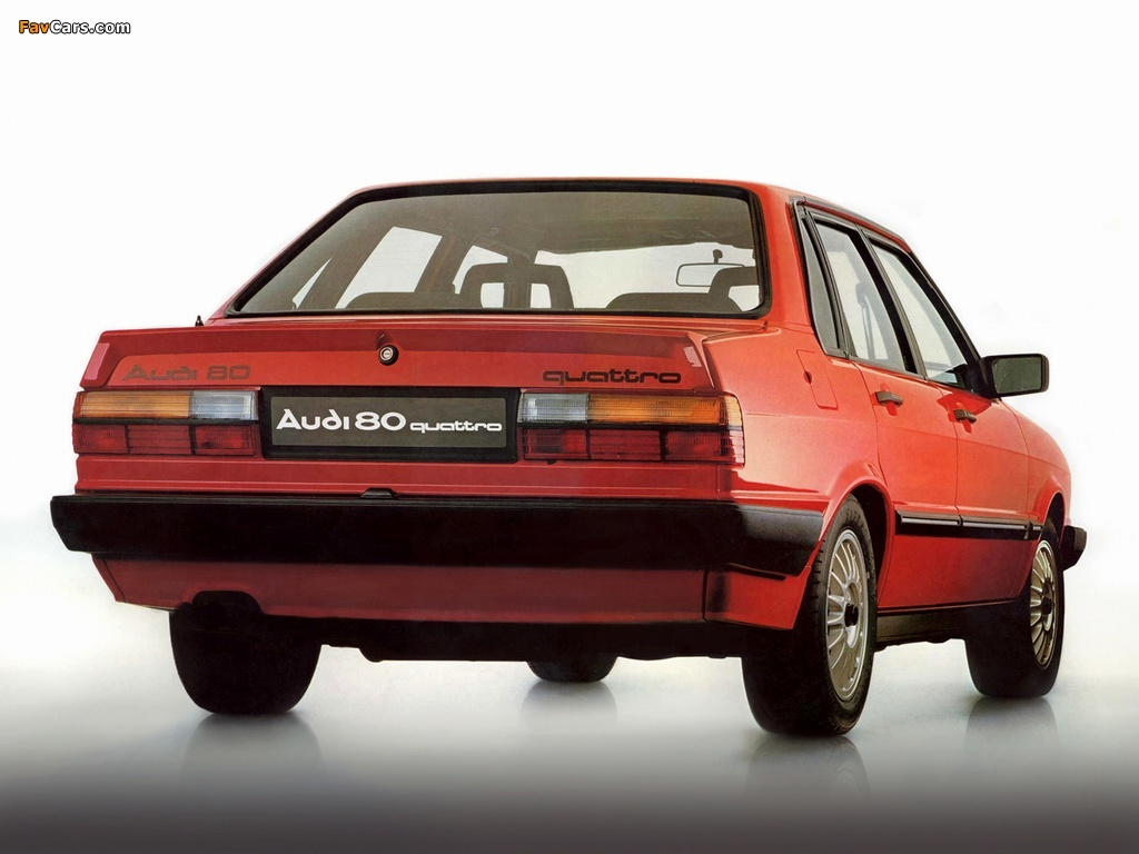 Photos Of Audi 80 Quattro B2 1982 1984 1024x768