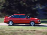Photos of Audi 80 quattro Competition 8C,B4 (1994)