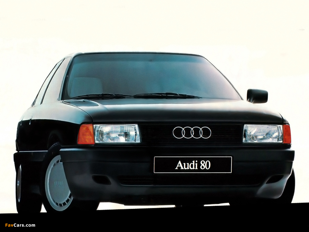 Pictures of Audi 80 8A,B3 (1986-1991) (1024x768)