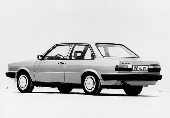 Audi 80 2-door B2 (1981-1984) wallpapers