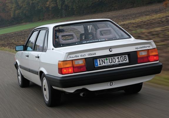 Audi 80 GTE quattro B2 (1985-1986) wallpapers