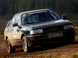 Photos of Audi 90 quattro Rally Car B3 (1988–1993)