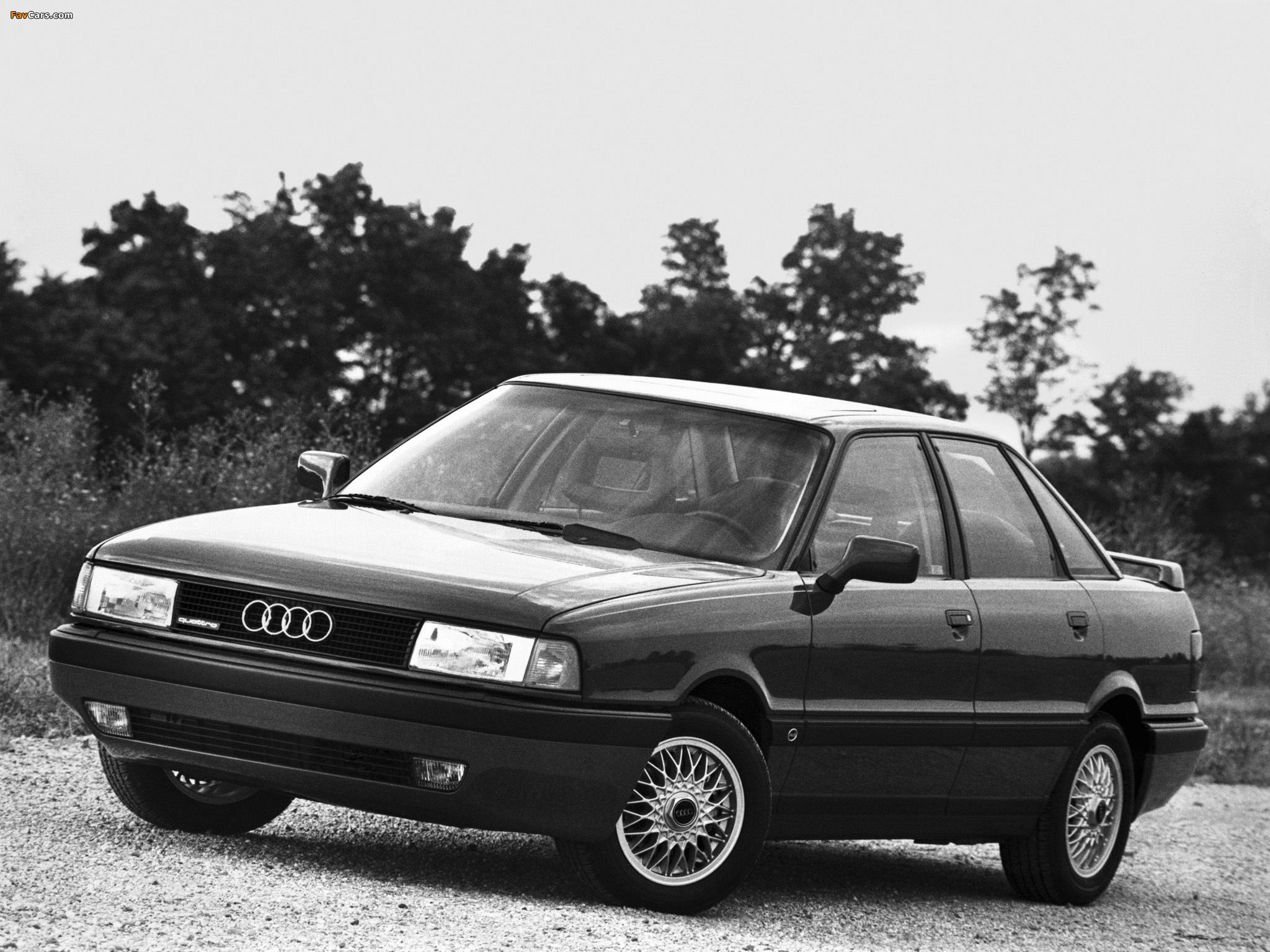 Audi 90 quattro us spec b3 1987 1991 wallpapers 2048 x